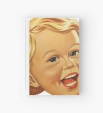 classic girl thirties Hardcover Journal