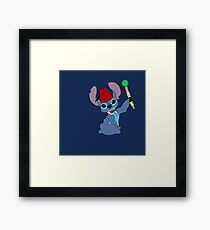 Dr. Who? Framed Print