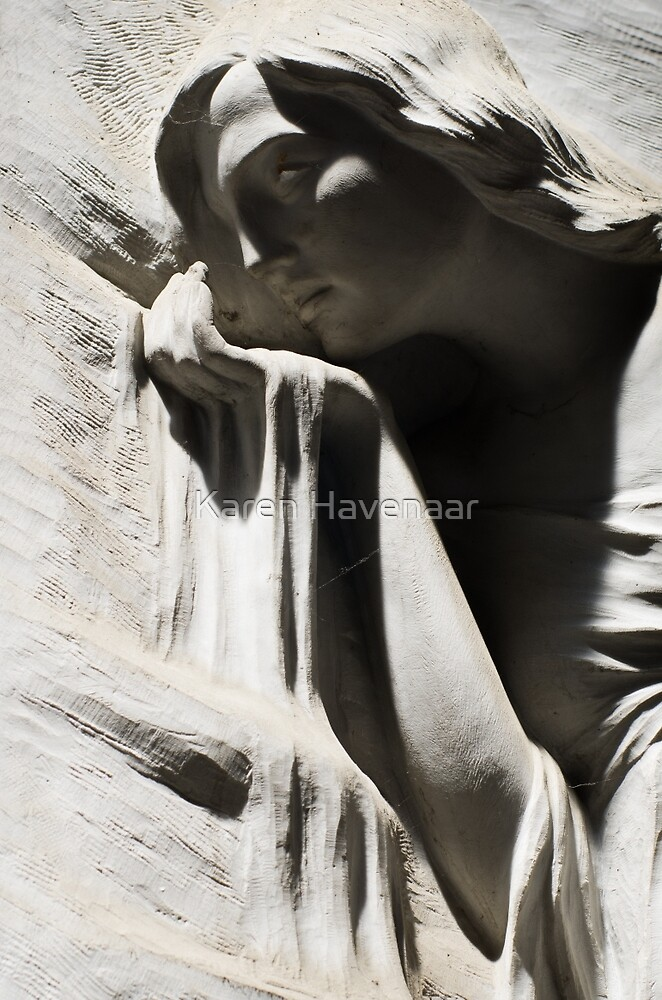Like sand thru her fingers by Karen Havenaar