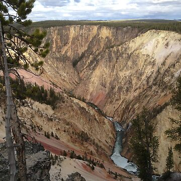 North Along the Canyon Wall by ticklemejimjam