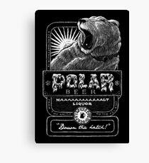 Polar Beer Canvas Print