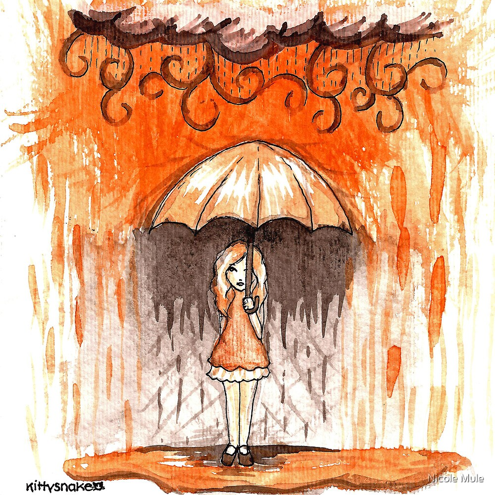 Umbrella of Safety by Nicole Mule'