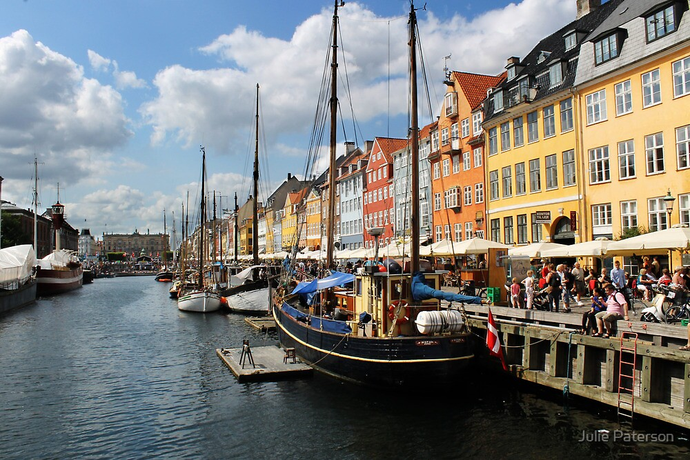 Nyhavn Harbour by Julie Paterson