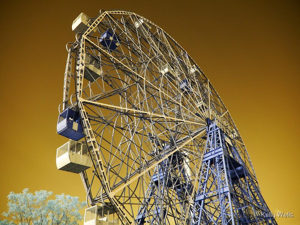 Coney Island Wonder Wheel #2 by Kelly Wells