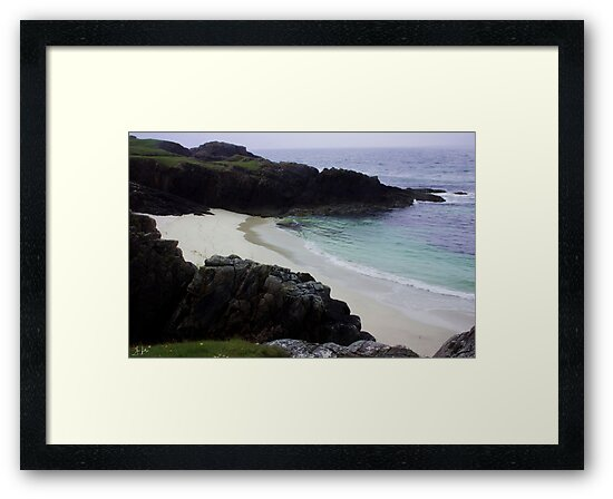Clachtoll Beach, Highlands by Sue Fallon Photography