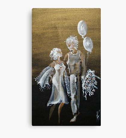 ... after the first a dance ...  Canvas Print