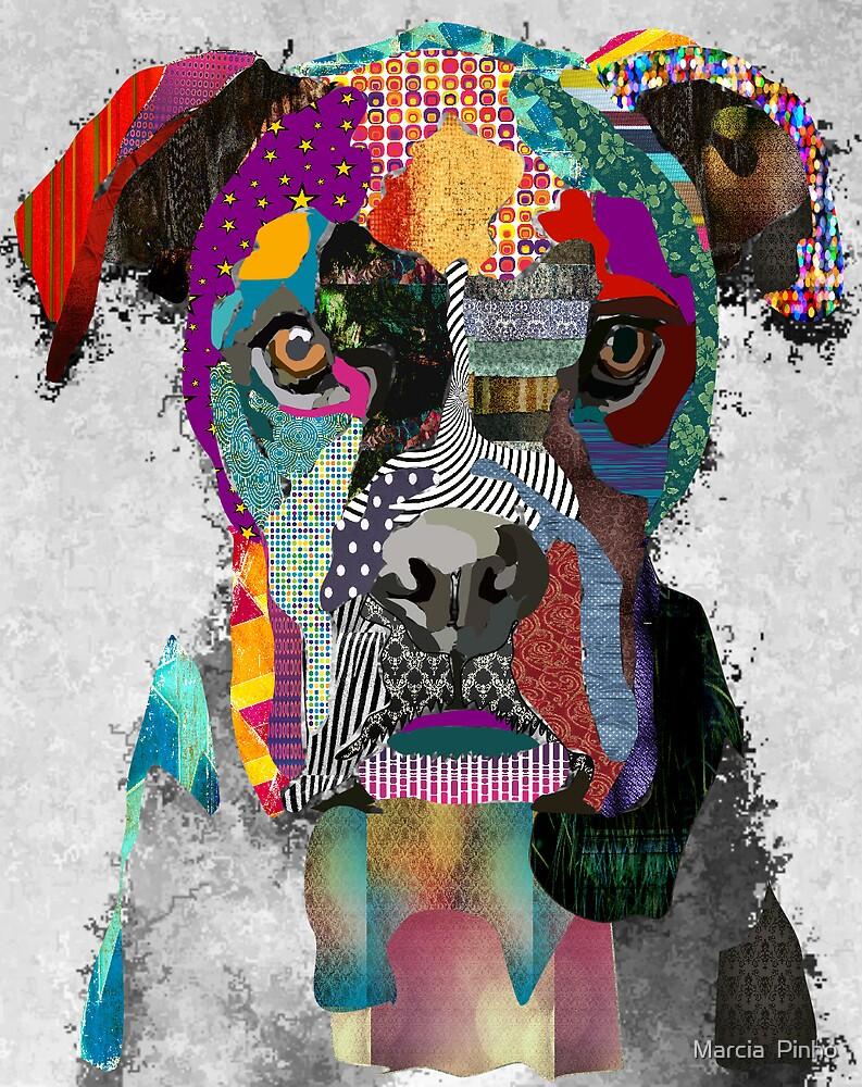 Dog portrait by Marcia  Pinho