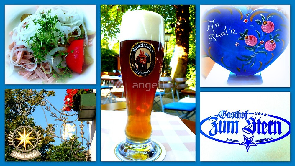 Bavarian Beergarden Bliss by ©The Creative  Minds