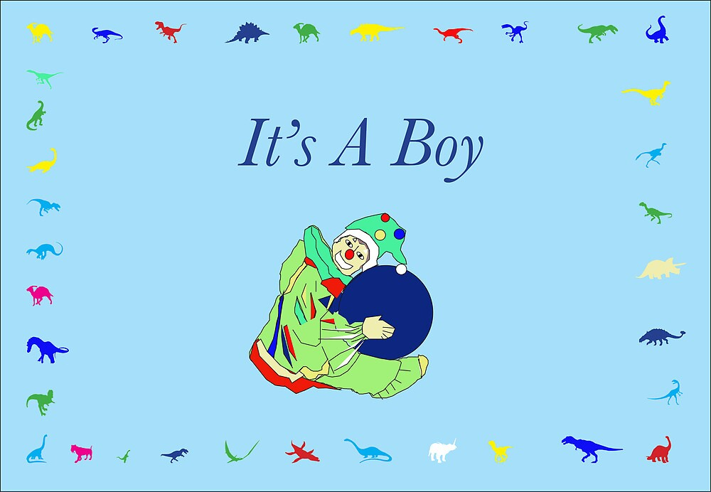 It's A Boy  by plmixdesigns