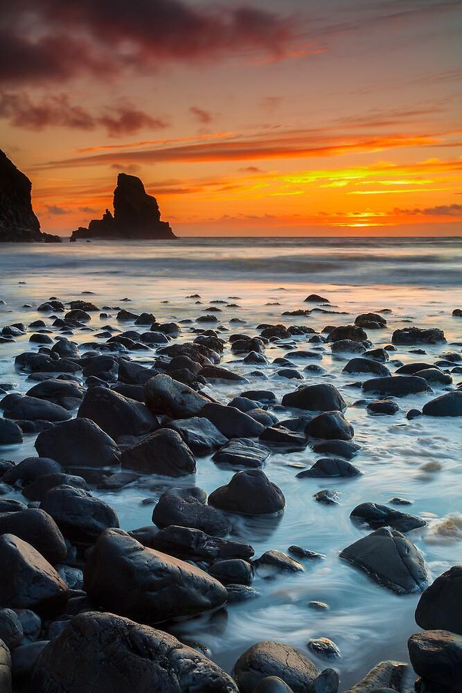 Sunset & Swirls by MikeBarber