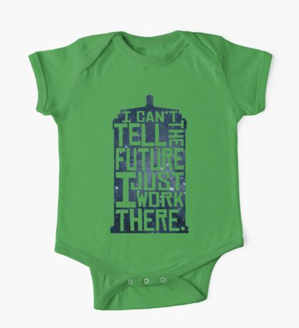 I Can't Tell The Future Kids Clothes