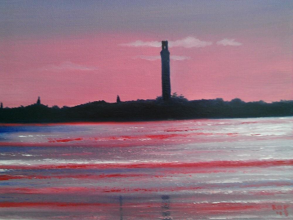 Pink Sunset by Ken Pratt
