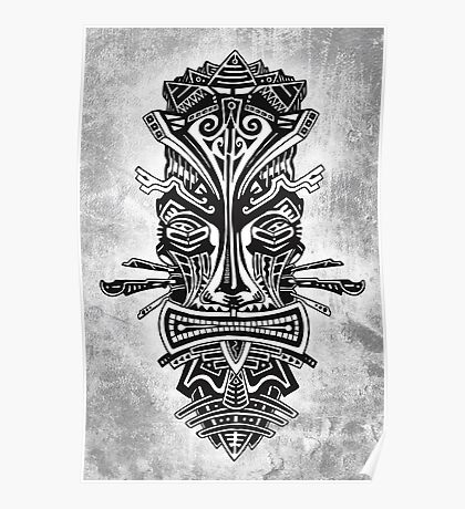 MASCARA - tribal 6 Poster