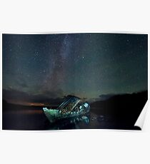 milky way over the dayspring Poster