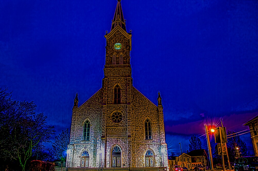 St Mary's in Port Washington Wisconsin by James Meyer