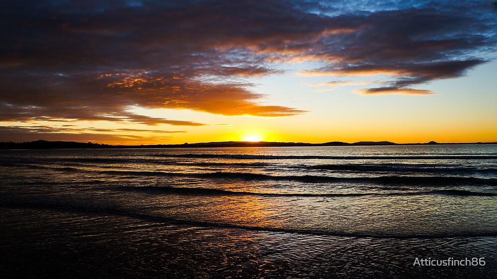 Noosa Sunset by Atticusfinch86