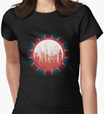 London City Skyline - black T-Shirt