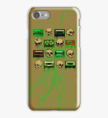 Skulls and creepy Tapes 2 iPhone Case/Skin
