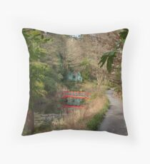 Portmeirion Gardens Throw Pillow