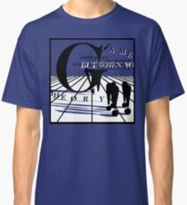 Game Theory - 2 Steps to the Middle Ages Tour (Light) Classic T-Shirt