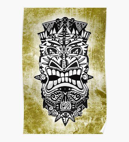 MASCARA - tribal 1 Poster