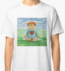 Live Love Yoga Bear  Classic T-Shirt