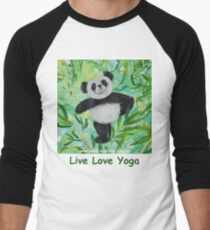 Live Love Yoga Panda Bear T-Shirt
