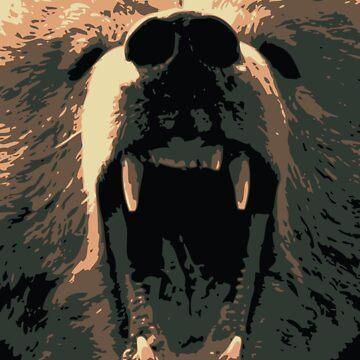 Bear Roar by NateVieira
