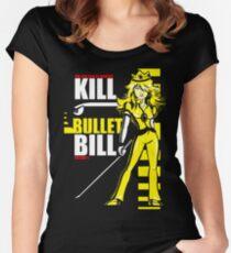 Kill Bullet Bill (Black & Yellow Variant) Women's Fitted Scoop T-Shirt
