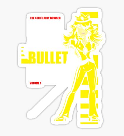 Kill Bullet Bill (Black & Yellow Variant) Sticker