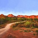 Outback Track   (GO1) by Ray Warren