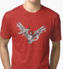 Zyzz - Winged Tee 2 Tri-blend T-Shirt