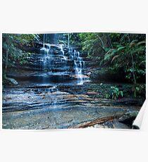 Cataract Falls, Blue Mountains Poster