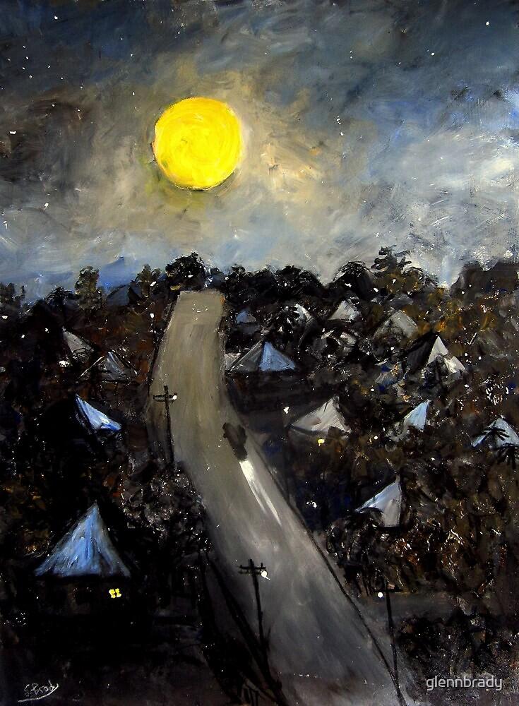 brisbane full moon..june 23rd by glennbrady