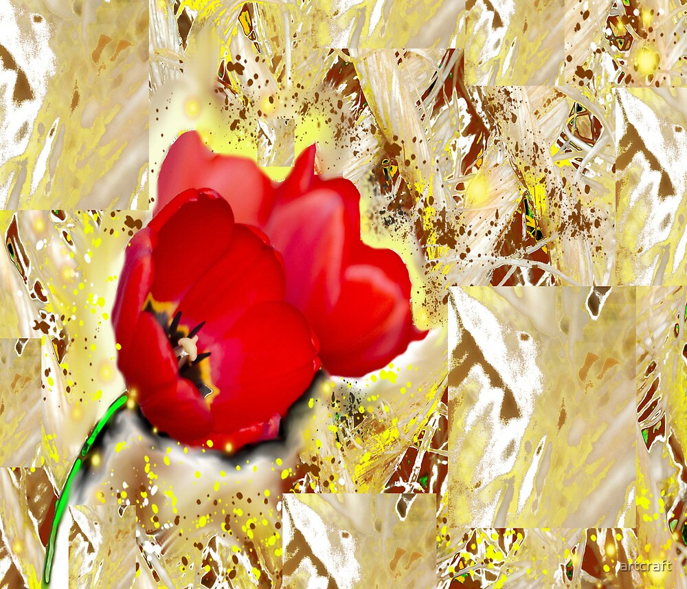 Floral - Tulips  by artcraft