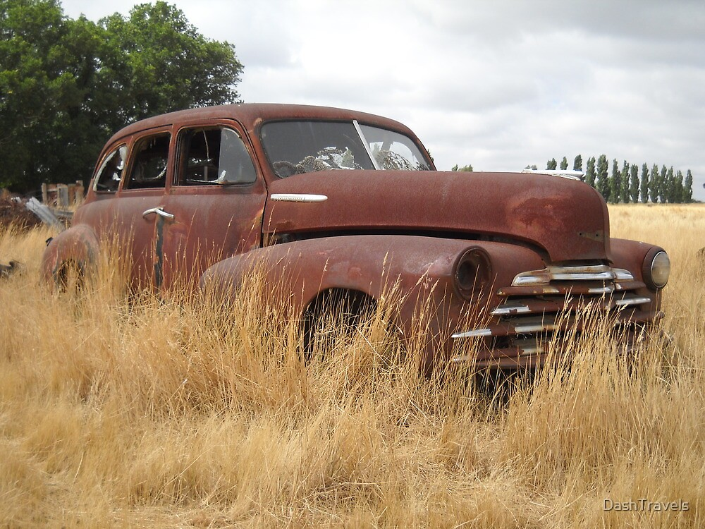 Chevy in the paddock - Yarra, NSW by DashTravels