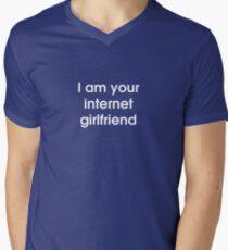I Am Your Internet Girlfriend Men's V-Neck T-Shirt