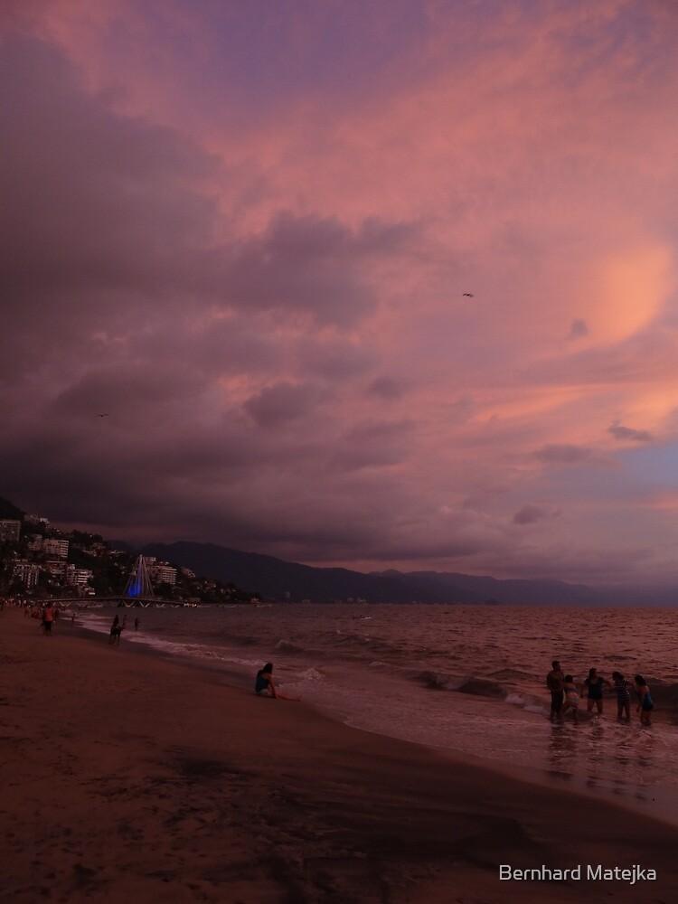 another sunset in the paradise - otra puesta del sol en el paraiso by Bernhard Matejka