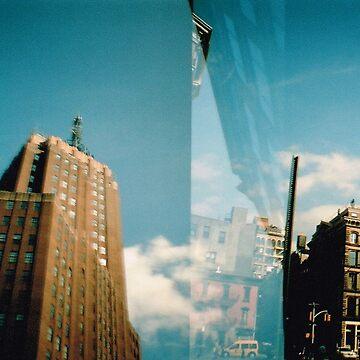 Blue New York by meadythebrave