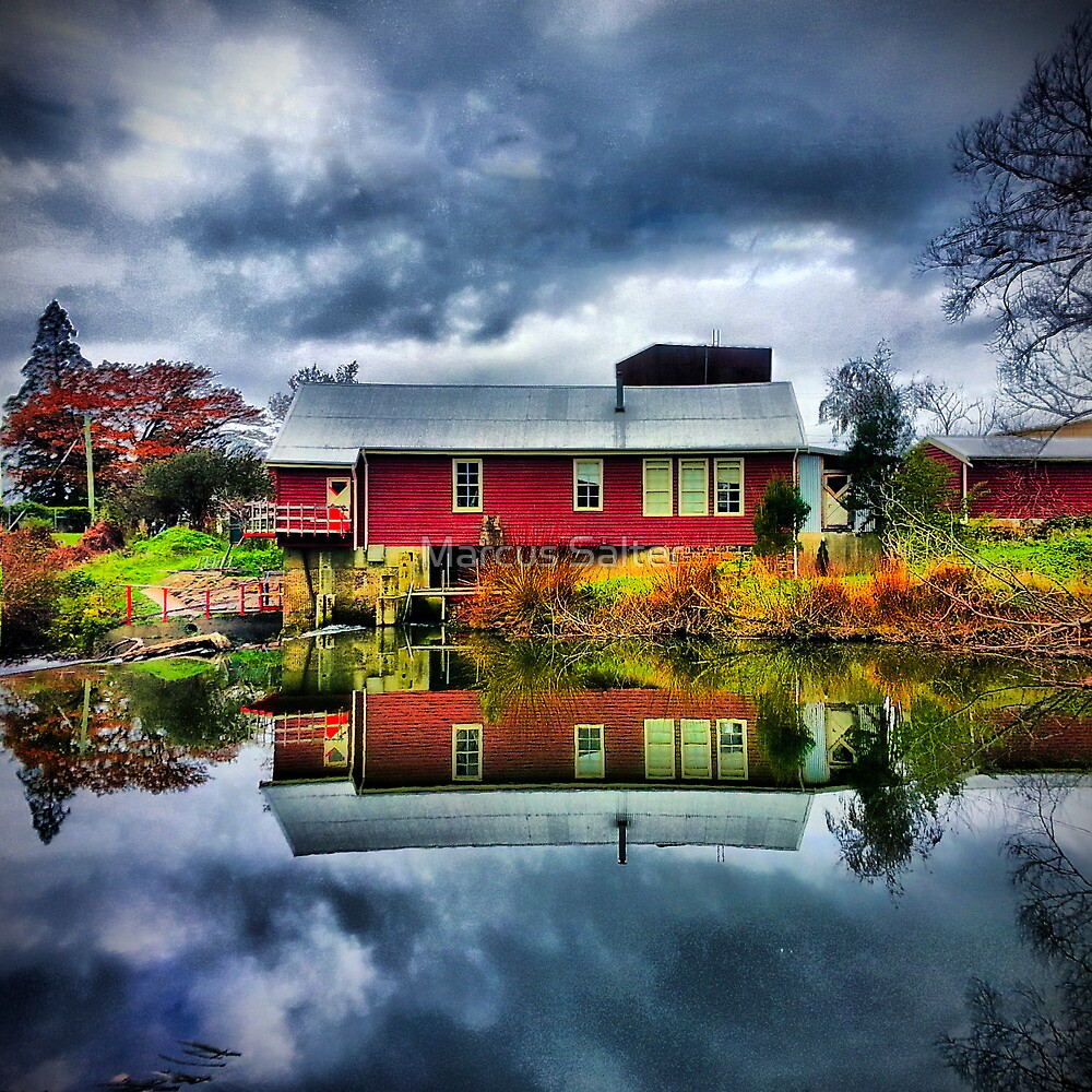 Storms in Deloraine by Marcus Salter