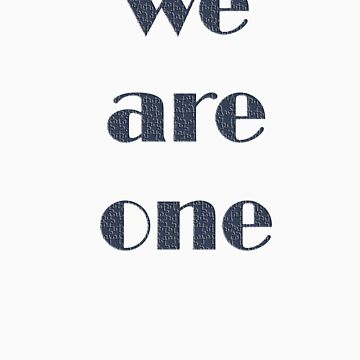 we are one by yetiman