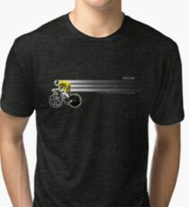 Chris Froome Tour de France 100th Winner 2013 Cycling Team Sky Tri-blend T-Shirt