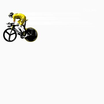 Chris Froome Tour de France 100th Winner 2013 Cycling Team Sky by Rory1973