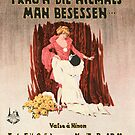 FRAUN DIE HIEMALS MAN BESESSEH (vintage illustration) by ART INSPIRED BY MUSIC