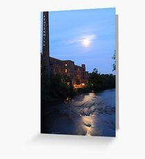 Ashton Mill, Blackstone River Greeting Card