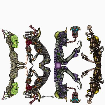 Double Quadruple Automatons by Azabt