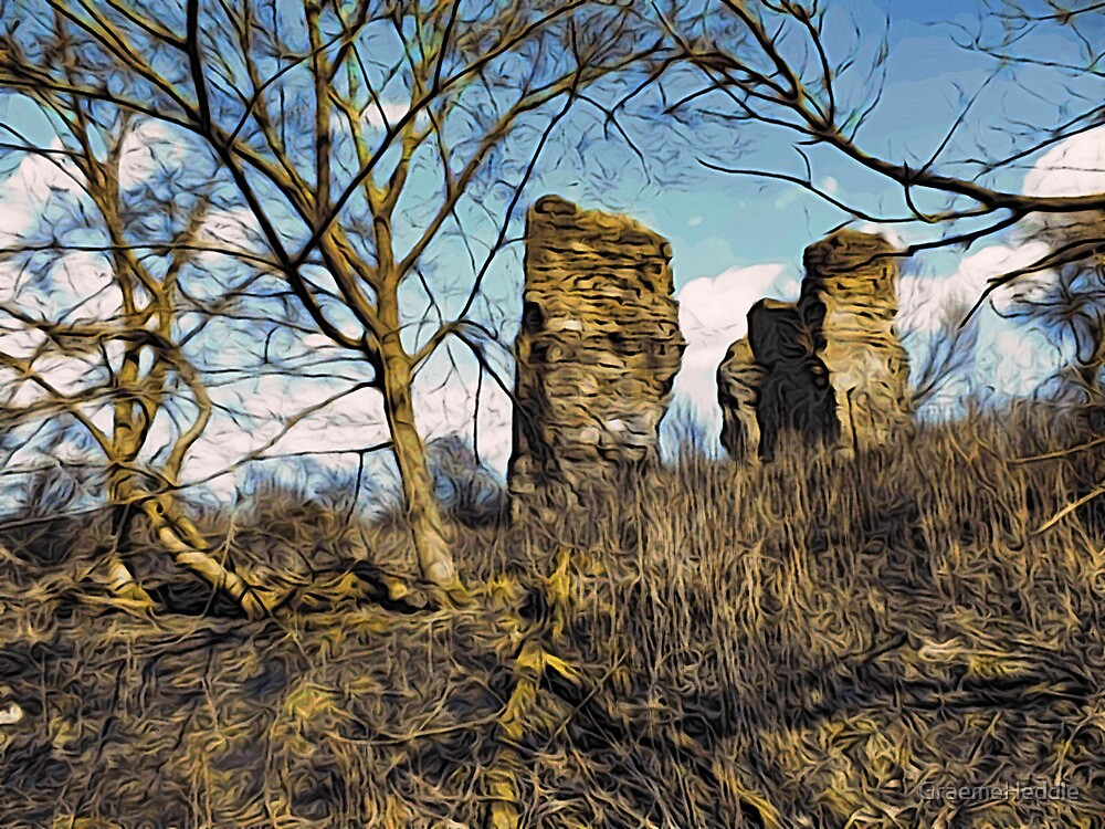 Lochore Castle by GraemeHeddle