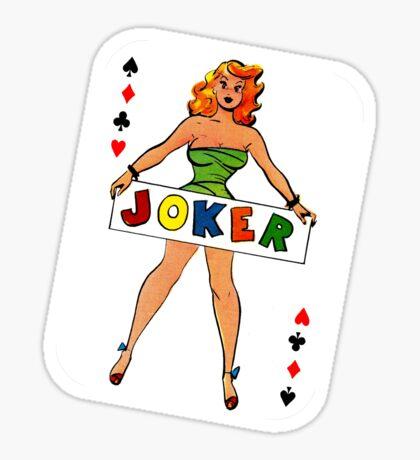 Joker is Wild II Sticker