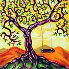'THE FOREVER SUMMER TREE'  by Jerry Kirk
