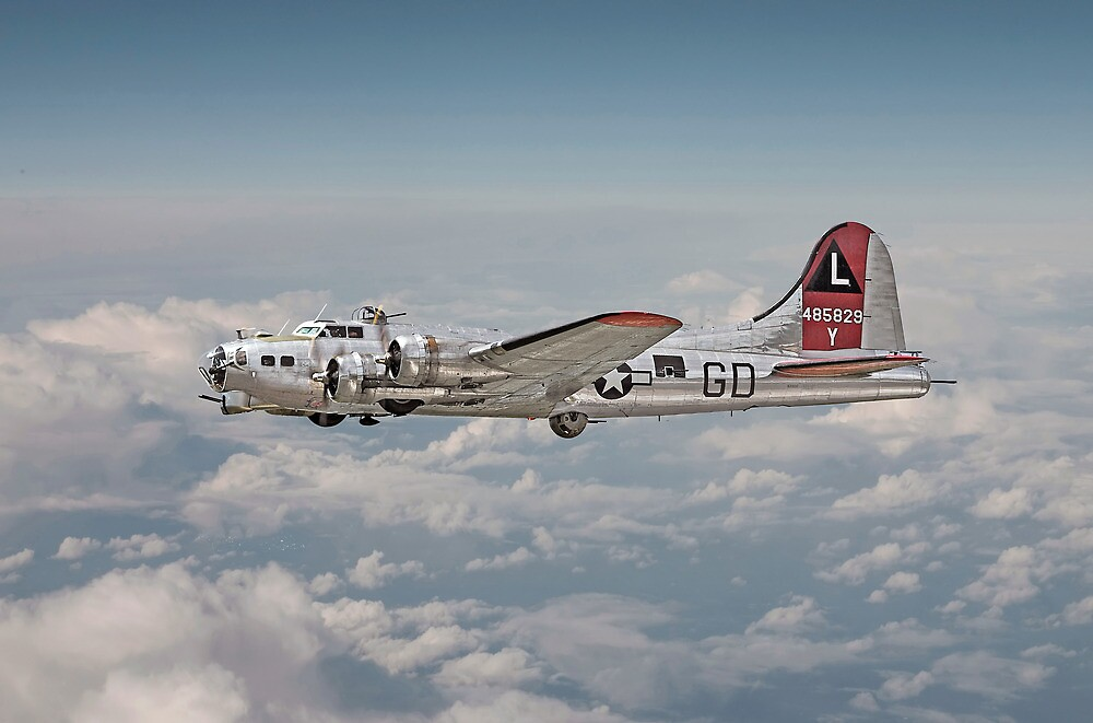 B17G - Portrait by Pat Speirs